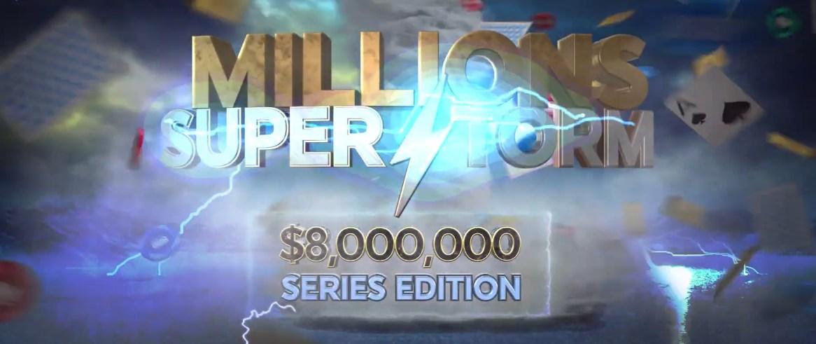 888poker Meluncurkan Seri Turnamen Dijamin $ 8 Juta, Edisi Jutaan Superstorm
