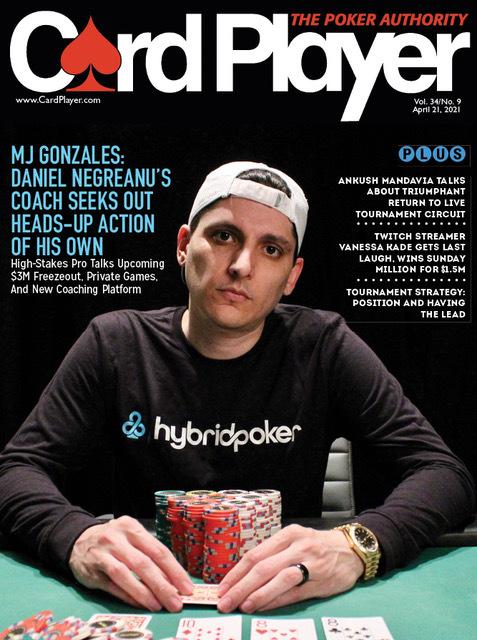 MJ Gonzales: Pelatih Poker Daniel Negreanu Mencari Tindakan Muka Sendiri