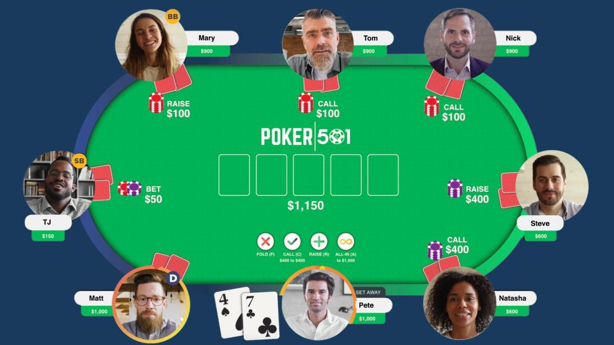 Perusahaan Alexandria ini menciptakan platform untuk menyelenggarakan acara poker amal virtual