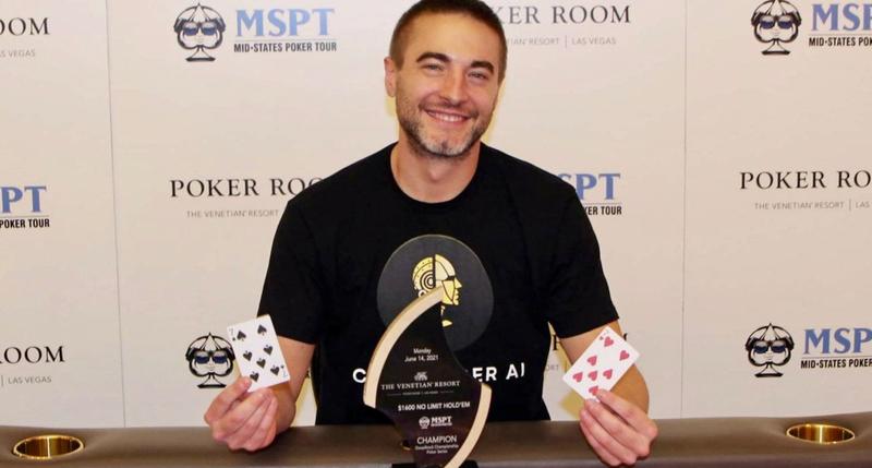 Chance Kornuth Memenangkan Tur Poker Mid-States 2021 Venetian Acara Utama $ 1.600 Untuk $ 412.086