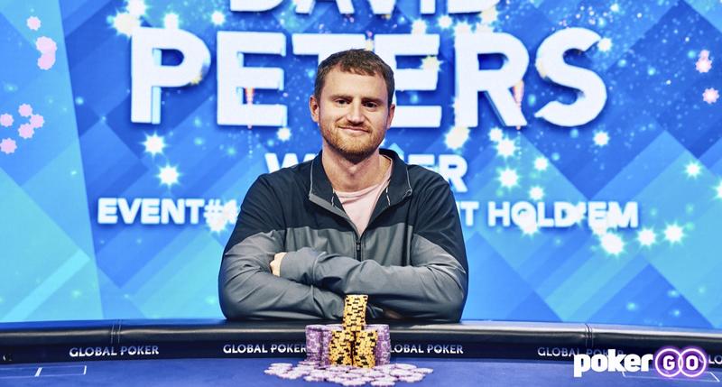 David Peters Memenangkan U.S. Poker Open $25.000 Buy-In High Roller Untuk Gelar Ketiganya di Seri